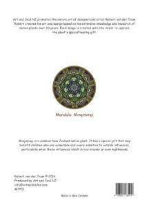 Art & Soul NZ A4 Print Back Mingimingi - 28-07-16 PRINT