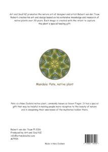 Art & Soul NZ A4 Print Back Pate - 28-07-16 PRINT