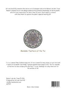 Art & Soul NZ A4 Print Back Tui - 28-07-16 PRINT