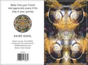 Art & Soul NZ Gift Card Kauri Snail - 01-08-16
